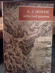Image for Selected Poems of A.J. Hovde by Hovde, A. J.