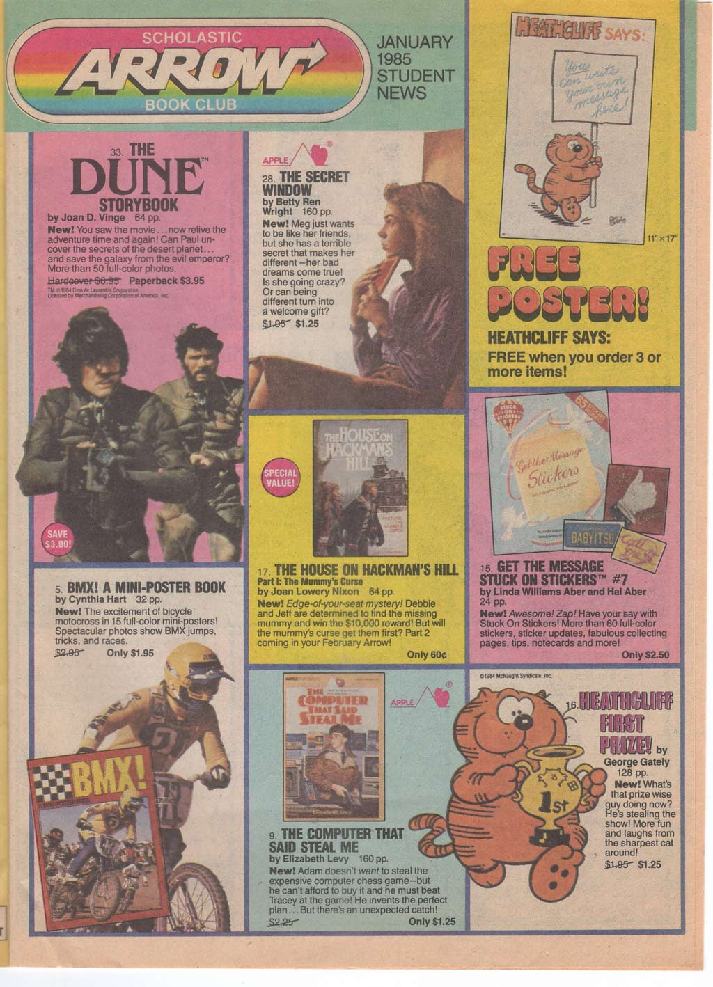 Scholastic Branded In The 80s