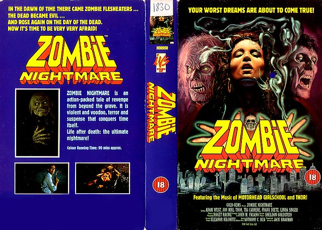 Zombie Nightmare (VHS Box Art)