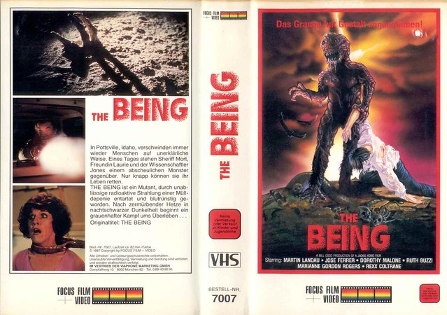 The Being (VHS Box Art)
