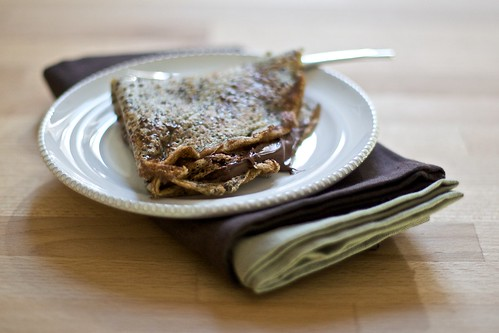 Crêpe with Nutella