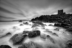 Doagh Island Castle (alastair.stockman) Tags: longexposure ireland sea irish castle water canon wave 5d donegal inishowen northatlantic ndfilter irishcastle 2minutes 1000x irishcoast stormysea canon1740mm 10stop nd110 canon1740f4lusm 120seconds doaghisland canon1740f4lusmgroup 5dmarkii canon5dmark2 5d2 5dii 5dmark2 canon5dii tenstop
