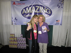 CHA Day 3: Me, Carolyn and My Fave Product!