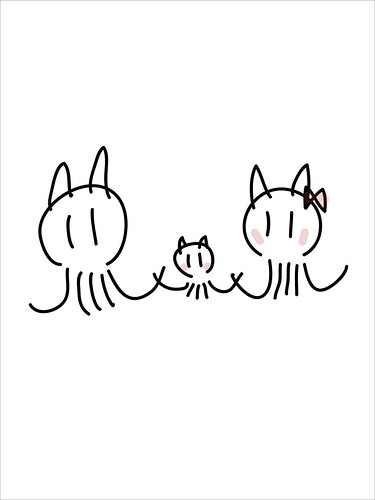 Mimitako family (by Adobe Ideas)