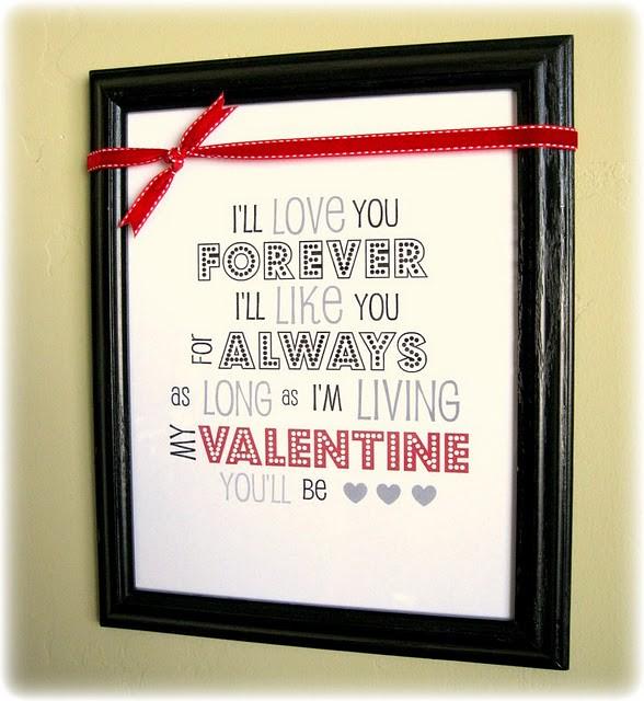 Framed Valentine