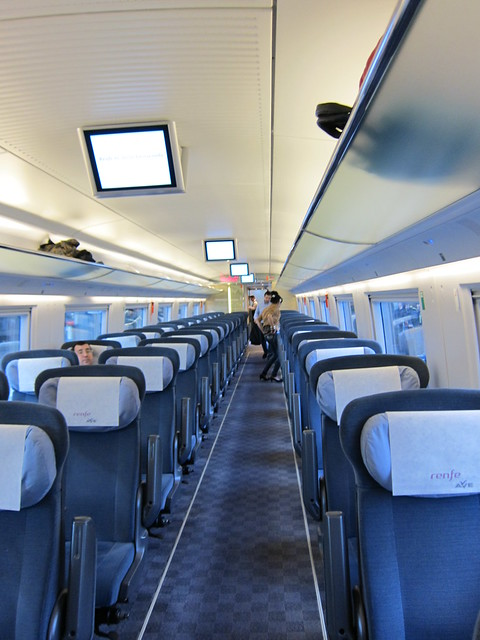 1st Class Train Travel from Madrid to Barcelona