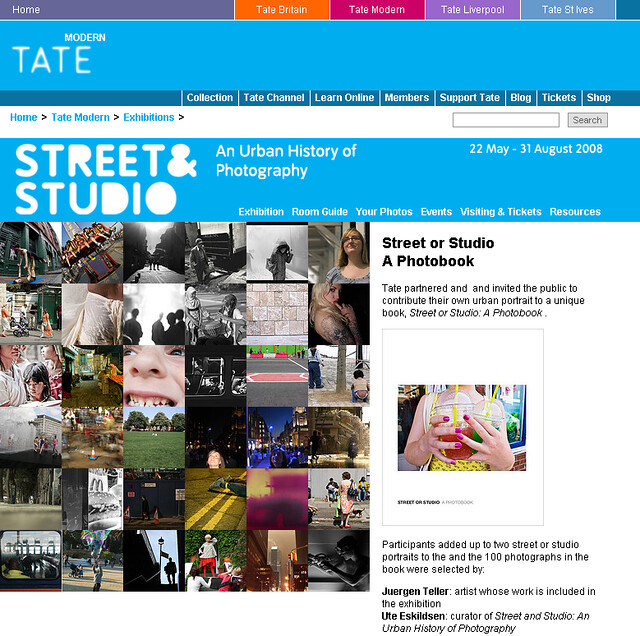 Street or Studio submission grid