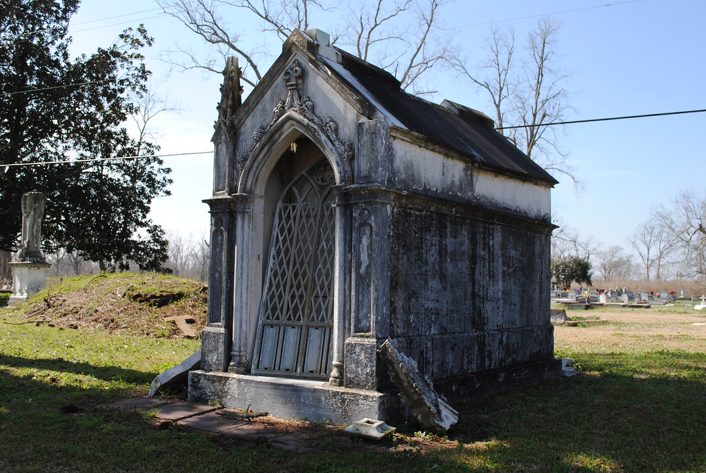 tomb at st. raphael cemetery