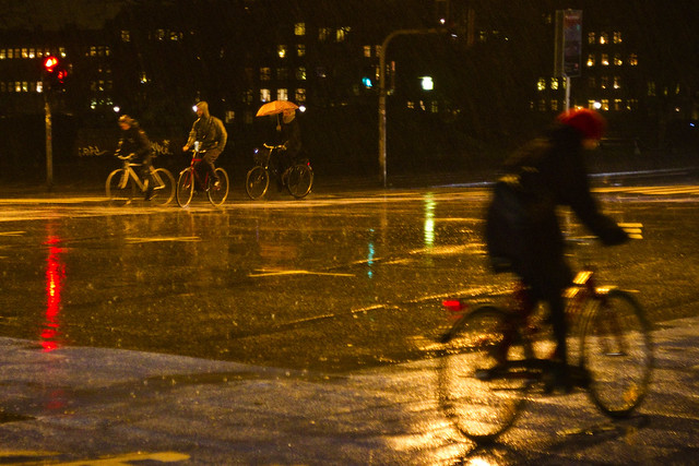 Rainstorm Cycling