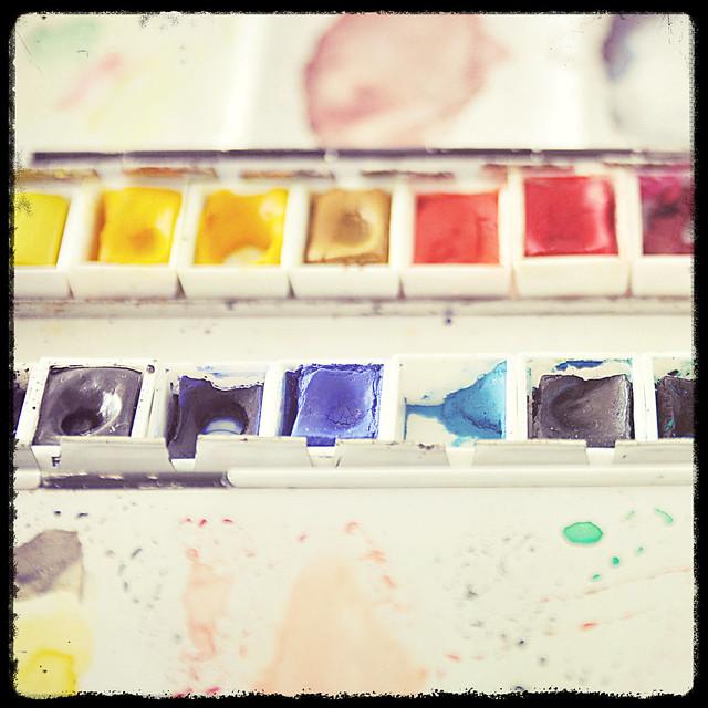 Akvareller_BlackFrame