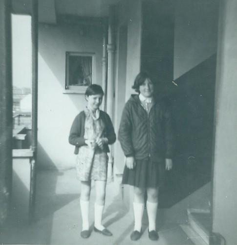 Mary Murphy and Irene Shaw 1964