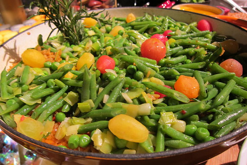 2011 Oscar Food: Green Bean + Tomato Salad