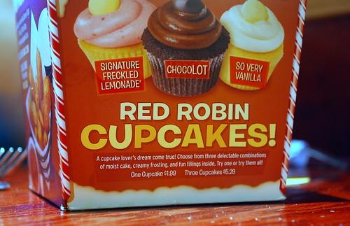 Cupcake Tent Card