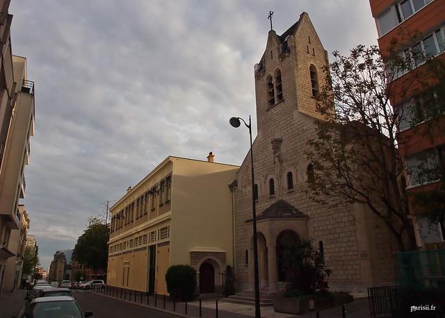 Notre Dame des Otages, petite église de quartier