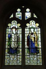 St Kentigern and St Columba: South aisle windo...