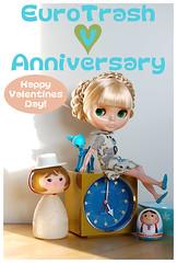 Happy Valentines Day & EuroTrash 5th Anniversary!