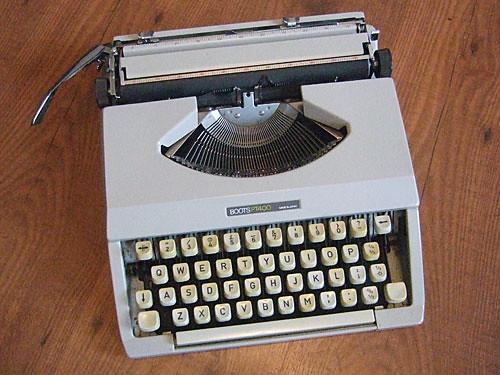 Goodbye typewriter!