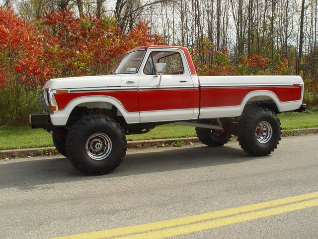 ford truck 4x4 side f150 dent f350 f250
