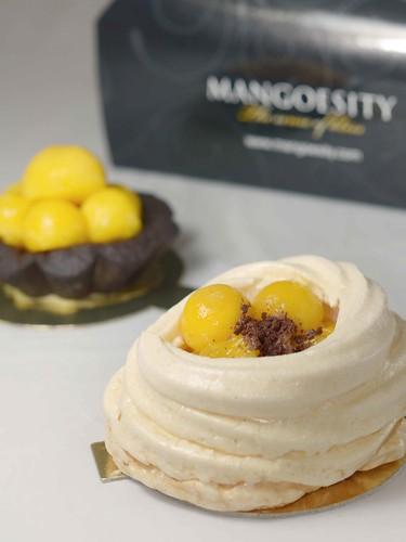 Mango Pavlova - $3.80