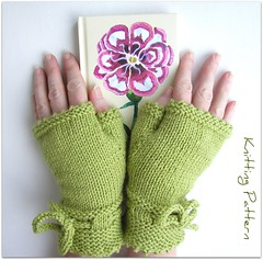Piano Gloves in Spring green (Hand Knitted Things) Tags: green apple spring pattern hand piano things gloves pdf knitted mittens mits fingerless handknittedtings