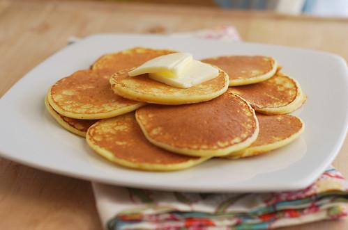 Orange Ricotta Pancakes - Fake Ginger