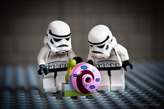 48/365 snail day (photography.andreas) Tags: portrait macro canon germany deutschland photography starwars lego minifig saarland stormtropper project365 eos40d canoneos40d canonefs1855mmf3556is urweiler