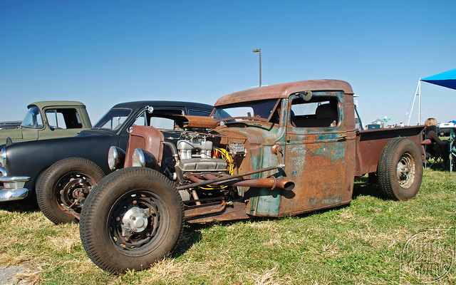 chevrolet chevy classic pickup truck ratrod traditionalrod rusty rust hunnertcarpileup decatur illinois