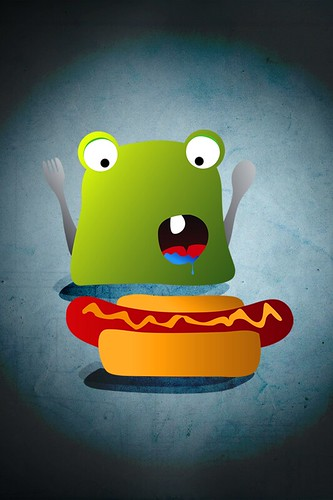 Smuggy Eating Iphone wallpaper 960x640