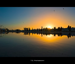 People of the sun (iPh4n70M) Tags: sunset sea sky sun mer fish reflection port marina photography soleil photo fishing sand nikon marine photographer photographie fishermen marin coucher sable fisheye reflet ciel morocco photograph maroc tc area nikkor 16mm essaouira hdr zone mogador photographe pêche pêcheurs 9xp d700 9raw tcphotography ph4n70m iph4n70m tcphotographie