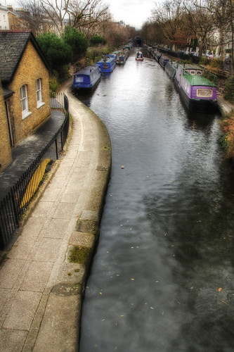 London. Canal. Londres