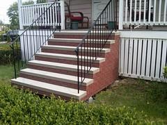 """Brick steps 14"""" platform"""
