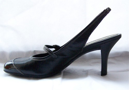 ebayed: Black Cole Haan Mary Jane Slingbacks