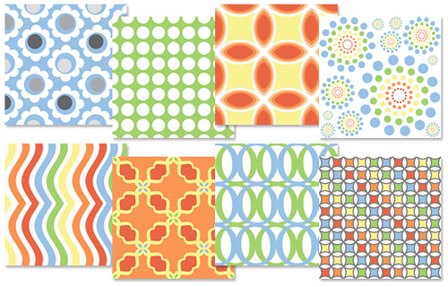 Jardin - Spoonflower Swatches