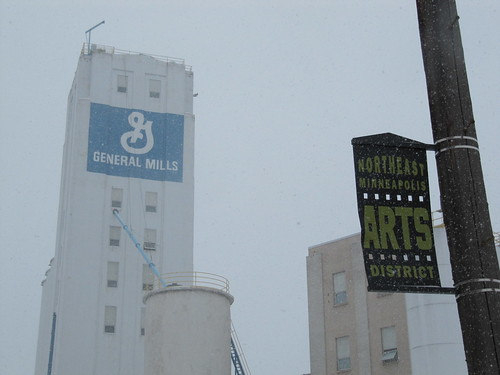 General Mills and Northeast Minneapolis Arts District
