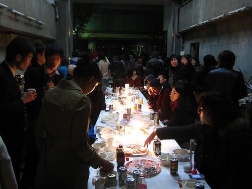Maywa Denki's studio party