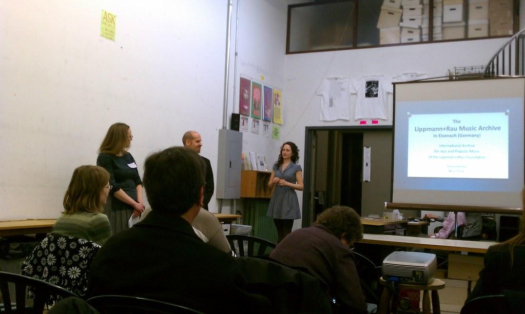 """""""Archivists Exchange"""" program, 17 February 2011."""
