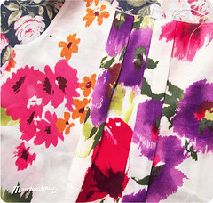 Burda 11/2008/109, szybie, bluzka, moda, lata 50., blog szafiarski