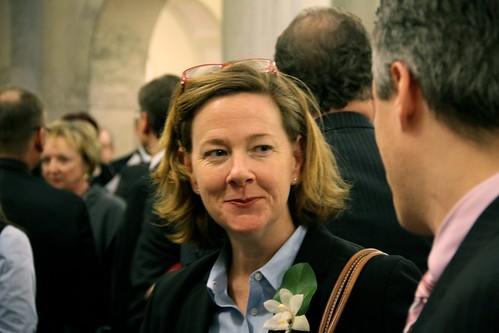 Alberta Progressive Conservative leadership candidate Alison Redford