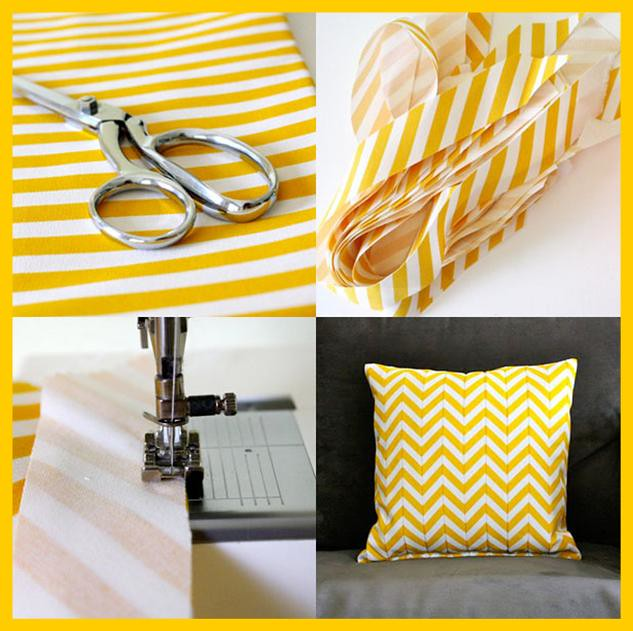 Chevron Pillow DIY