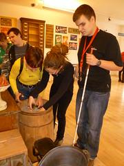 Komentovaná prohlídka výstavy Koloniál u pana Bajzy, 8. 2. 2011