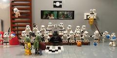 School Daze (Legoagogo) Tags: starwars yoda lego stormtrooper bobafett darthvader lukeskywalker deathstar hansolo moc