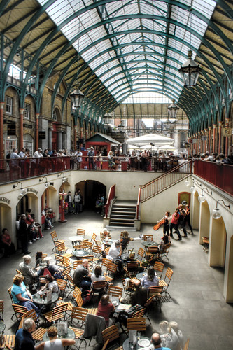 London. Covent Garden Market. Londres