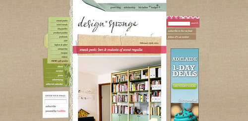 Blogs I love - Design Sponge