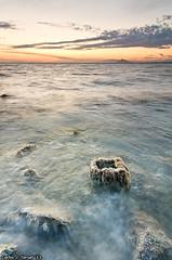 Square (Carlos J. Teruel) Tags: sunset espaa atardecer mar nikon paisaje murcia nubes marmenor d300 2011 tokina1116 xaviersam singhraynd3revgrad