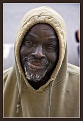 Rodeo Drive (G-daddyArt) Tags: portrait man beard hoodie wheelchair homeless streetphotography beggar gucci beverlyhills sweatshirt beg rodeodrive