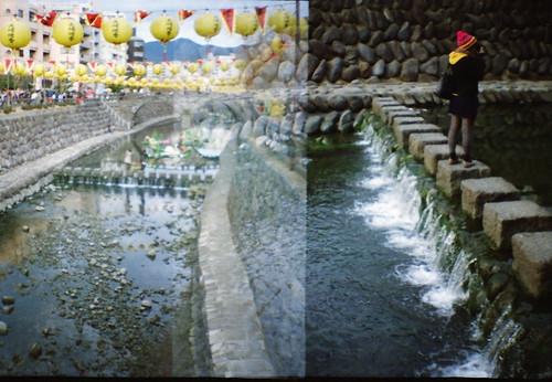 Nagasaki, lantern festival - Me