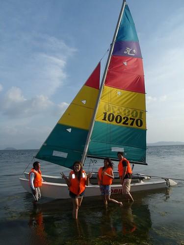 I sailed!