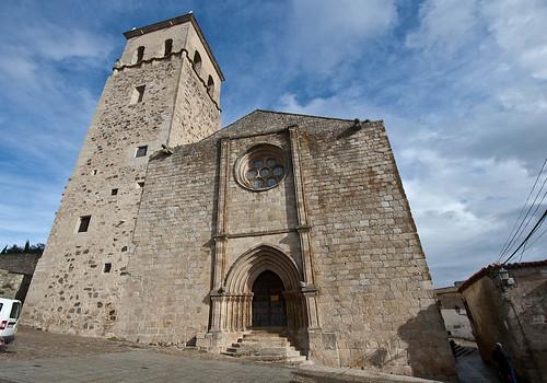 Iglesia de Santa María la Mayor en Trujillo