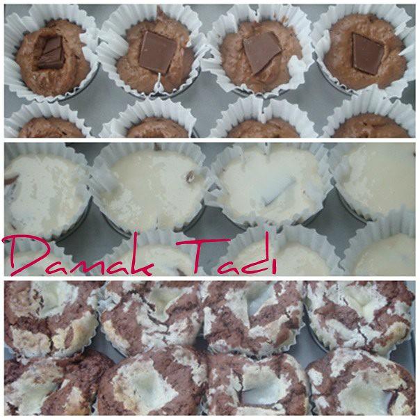 Çikolatalı Kaesekuchen Muffins
