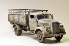 DSC_2749.jpg (ClarkeRamsey) Tags: truck model 4x4 military wwii hobby cargo german ww2 blitz cyber opel plasticmodel opelblitz sdkfz305